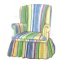 Kid's Shadow Stripe Swivel Chair, Kids Chairs | Personalized Kids Chairs | Comfy | ABaby.com