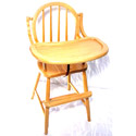Bow Wooden Highchair