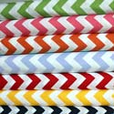 Chevron Zigzag Cotton Crib Sheet