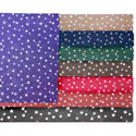 Cloudy Star Cotton Crib Sheet