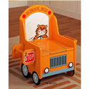 School Bus Potty Chair, Train And Cars Themed Nursery | Train Bedding | ABaby.com