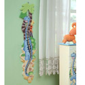 Dinosaur Kingdom Growth Chart, Kids Growth Chart | Growth Charts For Girls | ABaby.com