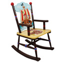 Pirate Island Rocking Chair, Kids Rocking Chairs | Kids Rocker | Kids Chairs | ABaby.com