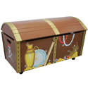 Pirate Island Toy Chest, Kids Storage Bins | Personalized Kids Toy Boxes | ABaby.com