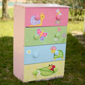 Magic Garden 4 Drawer Chest, Children's Dressers | Kids | ABaby.Com