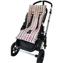Plush Reversible Stroller Liner, Stroller Accessories | Baby Carriage Liners | ABaby.com