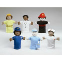 Community Worker Puppets, Creative Play | Creative Toddler Toys | ABaby.com