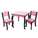 Fashion Prints Diva Table and Chair Set, African Safari Themed Furniture | Baby Furniture | ABaby.com