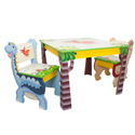 Dinosaur Kingdom Table and Chair Set, Dinosaurs Themed Nursery | Dinosaurs Bedding | ABaby.com