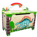 Dinosaur Kingdom Toy Box, Dinosaurs Themed Nursery | Dinosaurs Bedding | ABaby.com