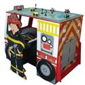 Fire Engine Desk and Chair Set, Fireman Themed Furniture | Baby Furniture | ABaby.com