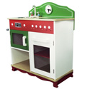 My Little Chef Kitchen with Electric Stove Top, Kids Play Kitchen Sets | Childrens Play Kitchens | ABaby.com