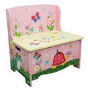 Magic Garden Storage Bench, Butterfly Themed Toys | Kids Toys | ABaby.com