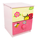 Magic Garden 2 Drawer Chest, Butterfly Themed Furniture | Baby Furniture | ABaby.com