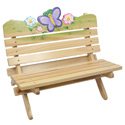 Magic Garden Outdoor Bench, Butterfly Themed Toys | Kids Toys | ABaby.com
