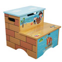 Pirate Island Step Stool, Pirates Themed Toys | Kids Toys | ABaby.com