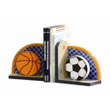 Little Sports Fan Bookends, Sports Themed Nursery | Boys Sports Bedding | ABaby.com