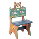Toddler's Time Out Bear, Kids Play Chairs | Personalized Kids Chairs | ABaby.com