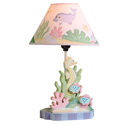 Under The Sea Table Lamp, Tropical Sea Themed Nursery | Tropical Sea Bedding | ABaby.com