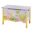 Under The Sea Toy Chest, Tropical Sea Themed Nursery | Tropical Sea Bedding | ABaby.com