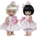 Bear-Foot Blessings Twin Dolls, Baby Doll Furniture Sets | Baby Doll Cradle | ABaby.com