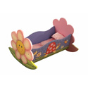 Magic Garden Rocking Bed for Dolls,