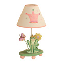 Princess and Frog Crown Lamp, Butterfly Themed Nursery | Butterfly Bedding | ABaby.com