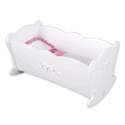 Tiffany Bow Doll Cradle, Personalized Kids Toys | Baby Toys | ABaby.com