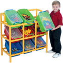 Tilt Bin Storage Unit, Kids Toy Boxes | Personalized Toy Chest | Bench | ABaby.com