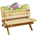 Magic Garden Outdoor Bench, Outdoor Toys | Kids Outdoor Play Sets | ABaby.com