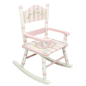 Bouquet Rocker, Kids Rocking Chairs | Kids Rocker | Kids Chairs | ABaby.com