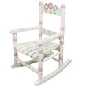 Toddler's Bouquet Rocking Chair, Kids Chairs | Personalized Kids Chairs | Comfy | ABaby.com