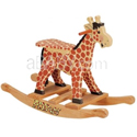 Personalized Hand Painted Rocking Giraffe