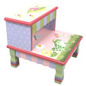 Magic Garden Step Stool, Frogs And Bugs Themed Toys | Kids Toys | ABaby.com