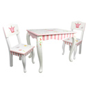 Princess and Frog Table & Chair Set