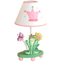 Princess and Frog Crown Lamp,