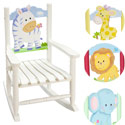 Safari Child's Rocking Chair, Kids Rocking Chairs | Kids Rocker | Kids Chairs | ABaby.com