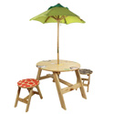 Sunny Safari Outdoor Table and Chair Set, African Safari Themed Nursery | African Safari Bedding | ABaby.com