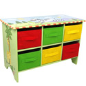 Sunny Safari Storage Cubby Base Set, African Safari Themed Nursery | African Safari Bedding | ABaby.com