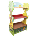 Sunny Safari Bookcase, African Safari Themed Nursery | African Safari Bedding | ABaby.com
