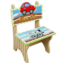 Ride Around Time Out Chair, Train And Cars Themed Nursery | Train Bedding | ABaby.com