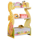 Under The Sea Book Shelf, Tropical Sea Themed Nursery | Tropical Sea Bedding | ABaby.com