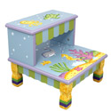 Under The Sea Step Stool, Tropical Sea Themed Nursery | Tropical Sea Bedding | ABaby.com