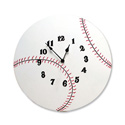 Baseball Wall Clock, Sports Nursery Decor | Sports Wall Decals | ABaby.com