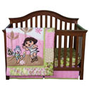 Dora �Exploring the Wild� Crib to Toddler Bedding Set, Themed Bedding | Theme Bedding For Crib | Nursery Bedding Themes