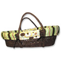 Giggles Moses Basket, Moses Baskets | Wicker Moses Basket | Baby | ABaby.com