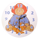 Paddington Bear Marmalade Wall Clock, Prince & Princess Nursery Decor | Baby Themes | Bedding