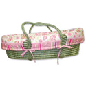 Paisley Park Moses Basket, Baby Baskets For Girls | Girls Moses Baskets | ABaby.com