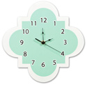 Quatrefoil Wall Clock, Prince & Princess Nursery Decor | Baby Themes | Bedding