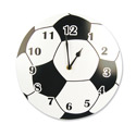 Soccer Wall Clock, Sports Themed Nursery | Boys Sports Bedding | ABaby.com